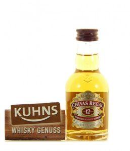 Chivas Regal 12 Jahre Blended Scotch Whisky Miniatur 0,05l, alc. 40 Vol.-%
