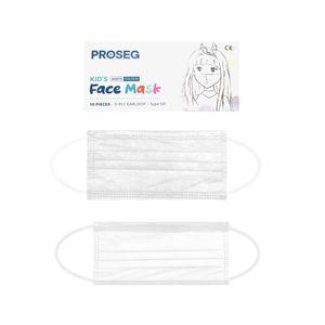 Kinder OP Masken Mundschutz Maske für Kids Typ IIR Medizinisch-Weiß