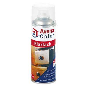 2 x Avena Color Klarlack 400 ml hochglänzend farblos 2in1 Grundierung