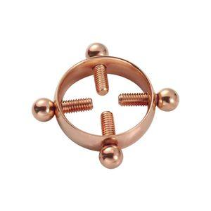 Mllaid Frauen Runder Nippel-Nagel Mädchen Verstellbarer Chirurgenstahl Nicht-Piercing Body Piercing Schmuck Nippel-Ring Nippel-Nagel
