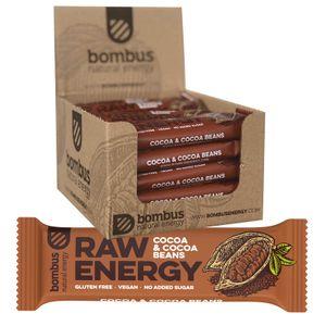 Bombus Fitness Riegel Choco 20 x 50g Glutenfrei Vegan Ohne Zuckerzusatz