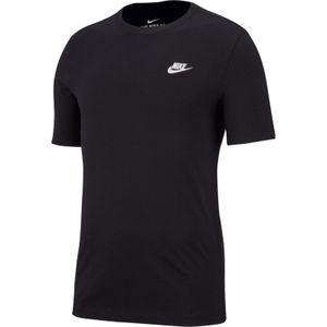 Nike M Nsw Club Tee Black/White Black/White L