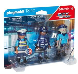 PLAYMOBIL City Action 70669 Figurenset Polizei