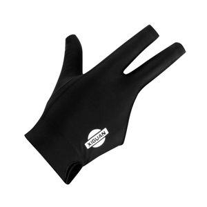 MagiDeal 3 Finger elastische Rechte Hand Snooker Pool Queue Billard Farbe Schwarz
