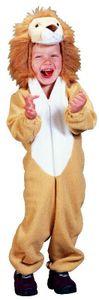 Kostüm Löwe Löwenkostüm Tierkostüm für Kinder Gr. 98-134, Größe:122/128