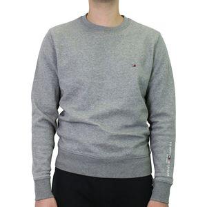 Tommy Hilfiger Sleeve Logo Sweatshirt Herren Sonstige Pullover Dunkelgrau (MW0MW15840PGU) Größe: M