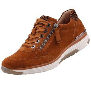 GABOR Rollingsoft Damen Sneaker Braun, Schuhgröße:EUR 38.5