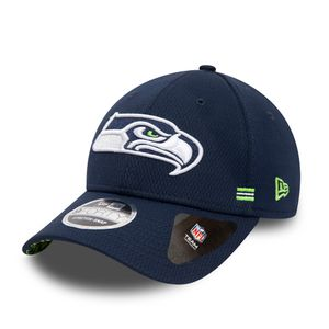 New Era NFL SEATTLE SEAHAWKS Authentic 2020 Sideline Home 9FORTY Stretch Snapback Game Cap