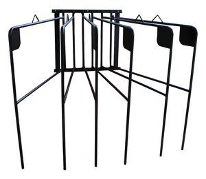 AMKA Pferdedeckenhalter 6 Arme für 6 Pferdedecken Schabracken schwenkbar