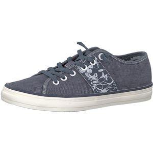 s.Oliver Damen Sneaker Blau Schuhe, Größe:40