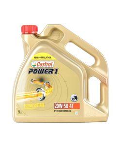 4 Liter CASTROL 20W-50 Power 1 4T API SJ JASO MA-2