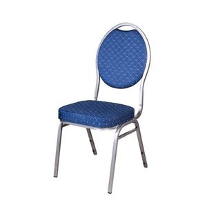 6er Bistrostühle blau Bankettstühle Stapelstühle Konferenzstühle Seminarstühle Besucherstühle