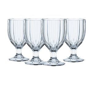 Nachtmann, 4-teiliges Kelchglas-Set, Kristallglas, 342 ml, Aspen, 103046, Farbe:Klar