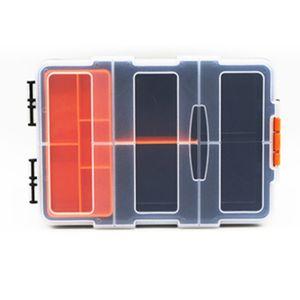 Große Toolbox Haushalt Wartung Elektriker Werkzeug Box Multifunktionale ABS Hardware Auto Reparatur Anti-fallen Box