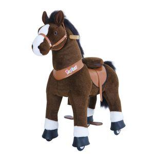 PonyCycle Dunkelbraunes Pferd 4-9 Jahre