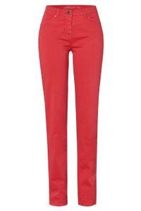 Toni Fashion Perfect Shape-leichte Damen 5-Pocket Hose in Rot, Slim Fit, Stretch 19