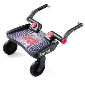 NORDIDEEN BuggyBoard Mini schwarz für Kinderwagen Buggy
