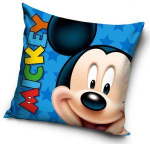Disney kissen Mickey 40 x 40 cm Polyester blau