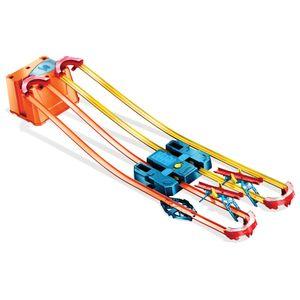 Hot Wheels Track Builder Unlimited Power Boost Box, motorisierte Autorennbahn