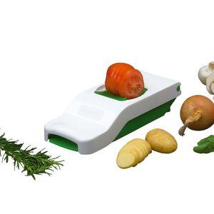 """ALLIGATOR Scheibenschneider """"Slicer"""" Zwiebelschneider Gemüseschneider Mandoline Gemüsehobel Eierschneider und Tomatenschneider"""