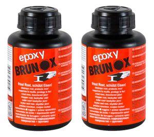 2x BRUNOX Epoxy Rostumwandler Rostschutz Roststopp Grundierung Grundierer 250 ml