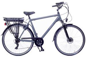 Amigo E-Active - Elektrofahrrad für Herren - E-bike 28 Zoll - Citybike mit Shimano 7-Gang - Nabenschaltung - 250W, 36V Li-ion-Akku - Schwarz