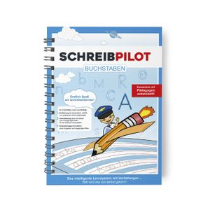 Schreibathlet Schreibpilot Schreib Athlet Pilot Buchstaben Bleistift/Radiergummi