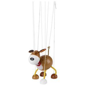 goki 51755 Marionette Hund, braun