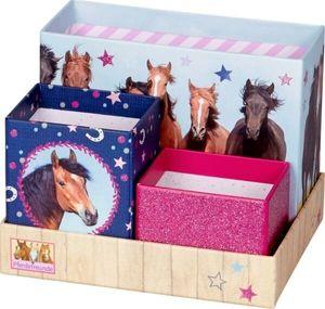 Die Spiegelburg Schreibtisch-Organizer Pferdefreunde
