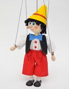 Dekoartikel Marionette Junge mit langer Nase