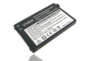 vhbw Akku passend für Nuk Babyphone Eco Control + Plus Video 10256296 & Nuk BM300 Parent Unit - (Li-Ion, 1000mAh, 3.7V) - Ersatzakku Batterie