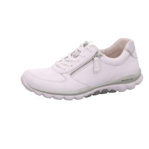 Gabor Shoes     weiss komb, Größe:4, Farbe:weiss/silber 1