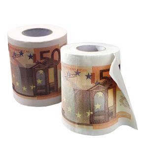 Toilettenpapier 50 Euro 4 Rollen Party-Gag Scherzartikel