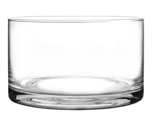 Obstsalatschüssel Salatschale 20cm Dessertschale aus Glas Glasschüssel Servierschüssel 3,3L
