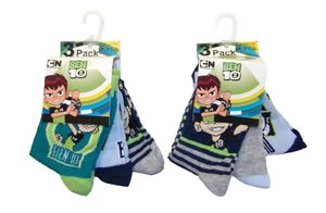 Ben 10 Socken für Kinder 27/30 (6er Pack)