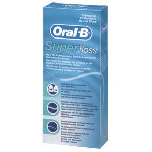 Oral-B Superfloss Zahnseide (50 Fäden)