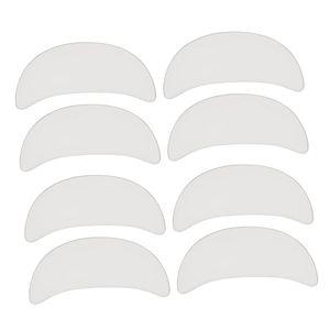 4 Paar wiederverwendbare Silikon Anti Falten Brust Augen Augenkissen Hautpflege