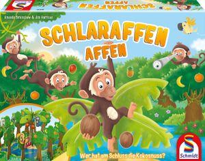 Schmidt 40552 - Schlaraffen Affen, Kinderspiel 4001504405526