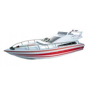 Siva Atlantic Boat - Rot RC Boot im Style einer Yacht RTR 2.4GHz 8,4V Akku RTR