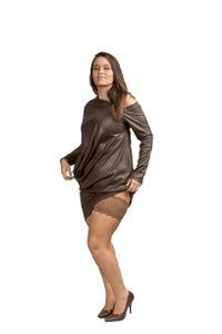 Bandelettes® – Anti-Oberschenkelreibung bänder – Dolce Schokoladenbraun – Größe A (Umfang 53 - 57 cm)