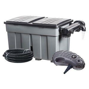 Durchlauffilter Eco / Mehrkammerfilter-Set 24m³ Heissner FPU24000