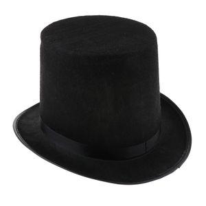 Schwarze Farbe Kostüm Zylinderhut Zylinder Hut für Magician
