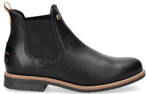 Panama Jack Giordana Igloo Damen Chelsea Boot Stiefel Schwarz Schuhe, Größe:39
