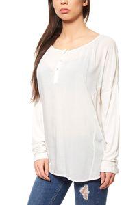 rick cardona by heine Shirtbluse Damen Oversize Weiß, Größe:34