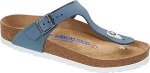 Birkenstock Gizeh Flips Nubukleder Normal Damen dove blue Schuhgröße EU 37 | Regular