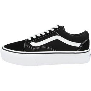 VANS Old Skool Platform Sneaker Skate Schuhe Klassiker, Schuhgröße:38 EU, Farbe:Schwarz