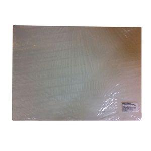 Becks Plastilin B100534 Modellierunterlage aus Kunststoff, 38 x 27 cm (10er Pack)