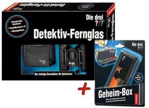Die drei Fragezeichen - Detektiv-Fernglas + Geheim-Box