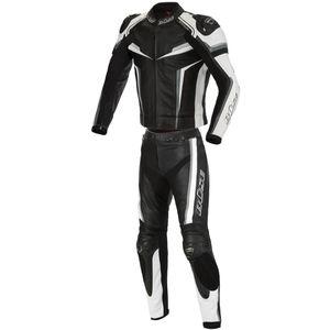 Büse Mille 2-Teiler Motorrad Lederkombi Farbe: Schwarz/Weiß, Grösse: 54