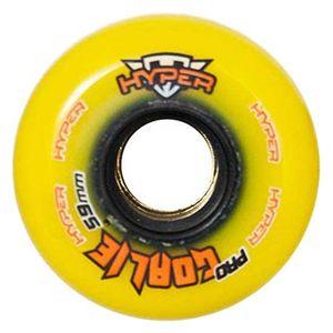 Hyper Wheels Hockey Indoor Goalie Yellow 47 mm / 76A